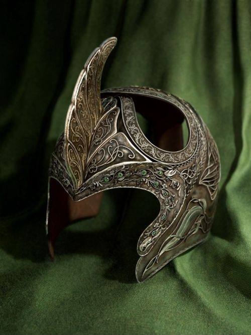 Elf Helm -- This is especially awesome as I've been looking at Alan Lee's original concept art and seeing it in a physical form is very interesting :)
