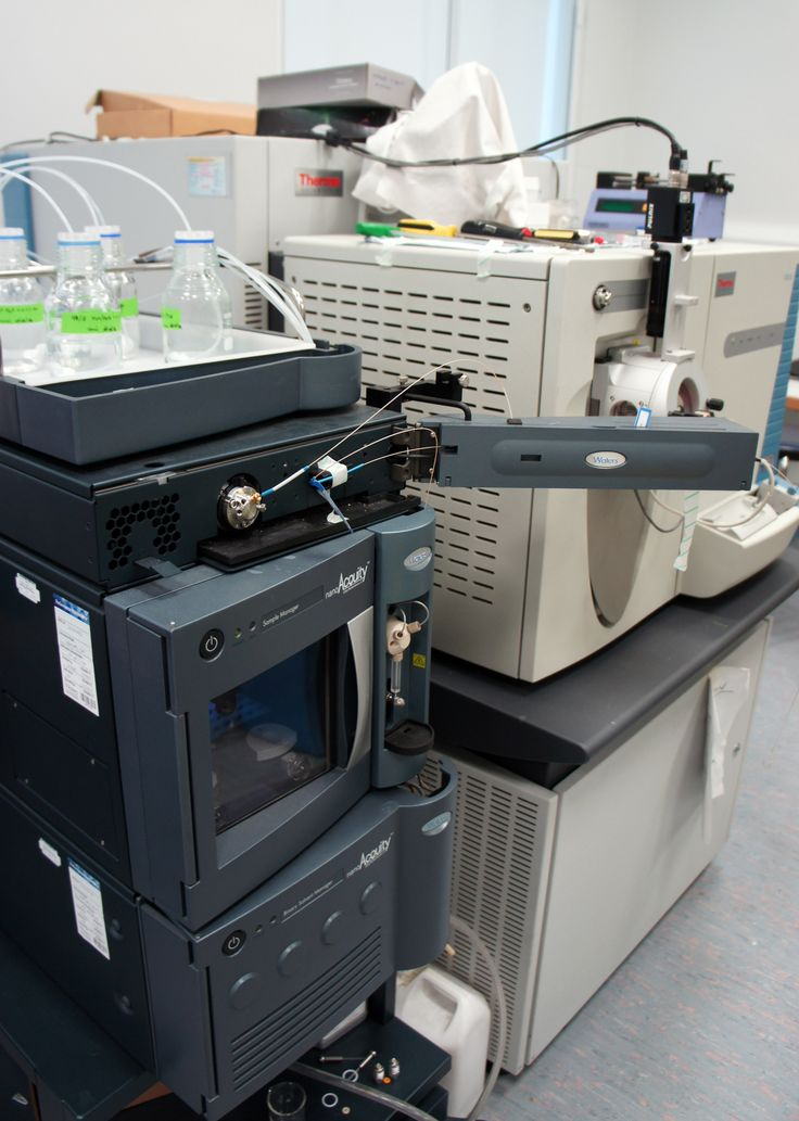 Our Mass Spectrometer - in case you ever wondered what one might look like. Photo by Dr Marianne Baker.