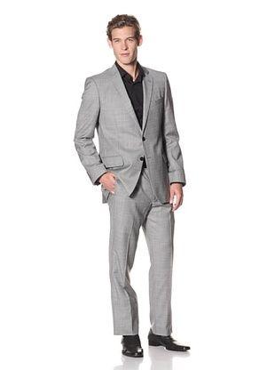 Joseph Abboud Men's Hudson Fit 2-Button Suit