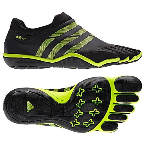 Men\u0027s adidas Sport Weightlifting adiPURE Trainer Shoes Solid Grey  Electricity V20553