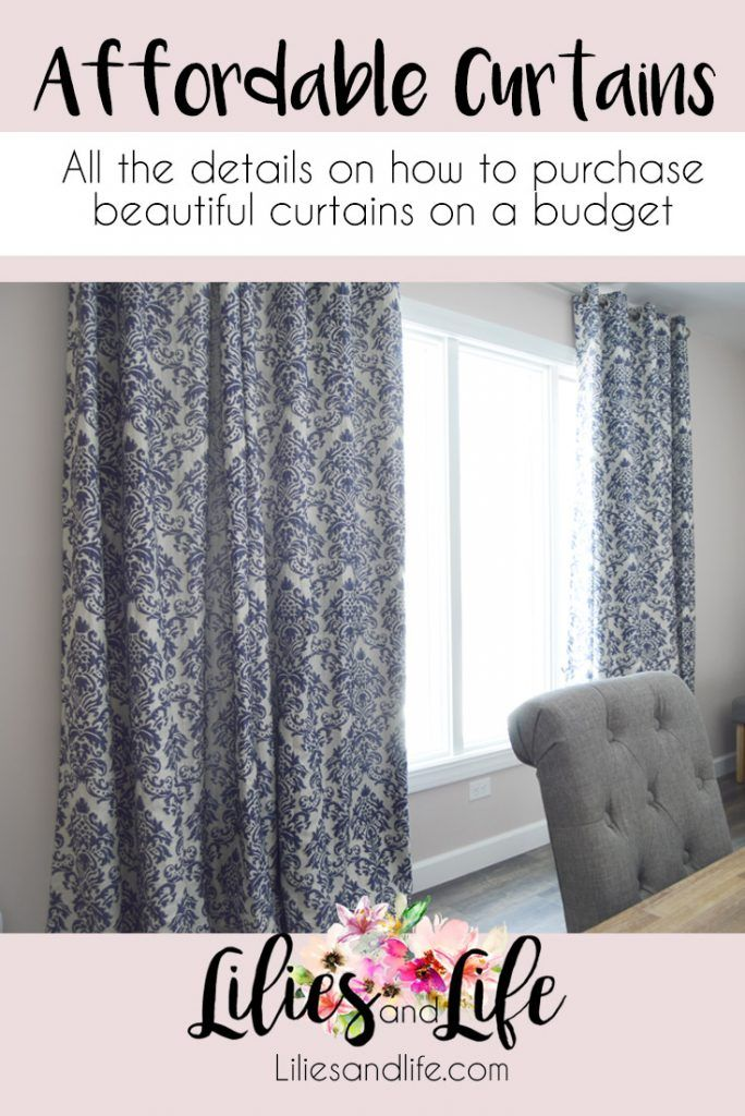 Curtains On A Budget Lilies And Life Interior Decorating Blog Home Decor Diy Dining Room Curtains Affordable Curtains Living Room On A Budget