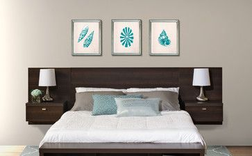 Floating Headboard modern headboards