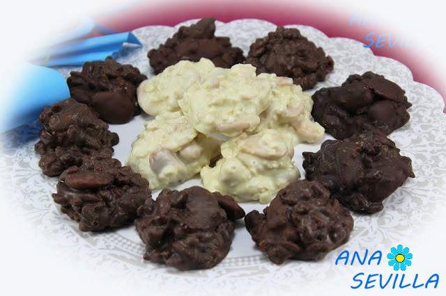 Rocas o petras con aceite de oliva con Thermomix Ana Sevilla