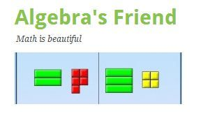 Algebra's Friend Algebra 2 sources