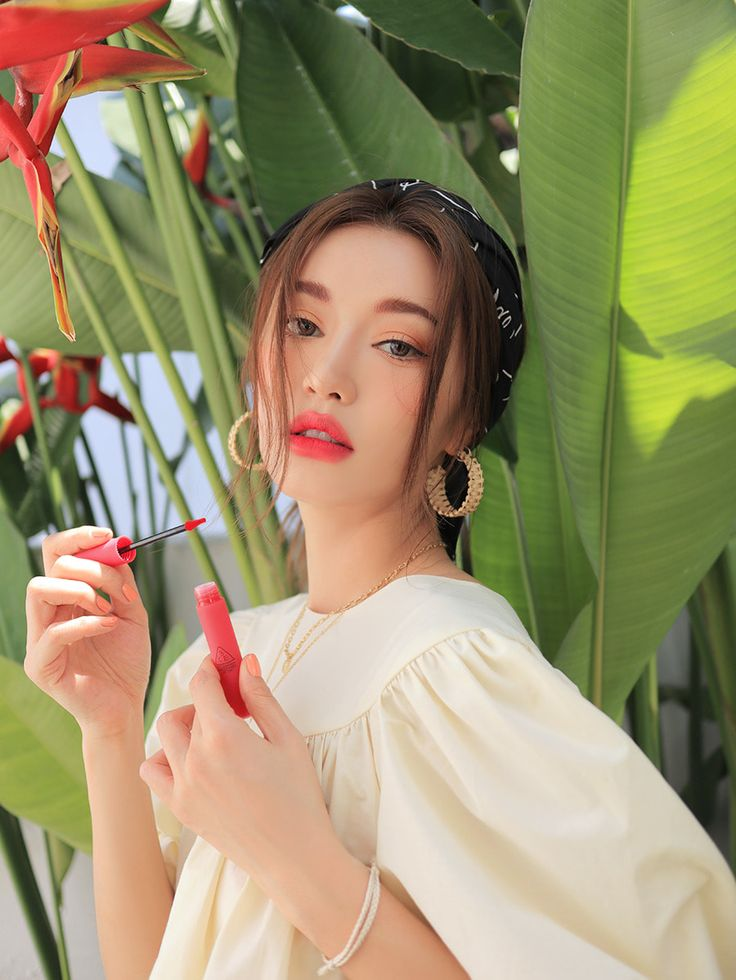 3ce smoothing lip tint #dollyfied in 2020 | Lip tint, Natural lips, Natural lip plumper
