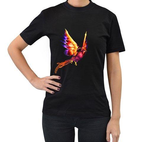 Phoenix+2+Womens'+T-shirt+(Black)+Women's+T-Shirt+(Black)