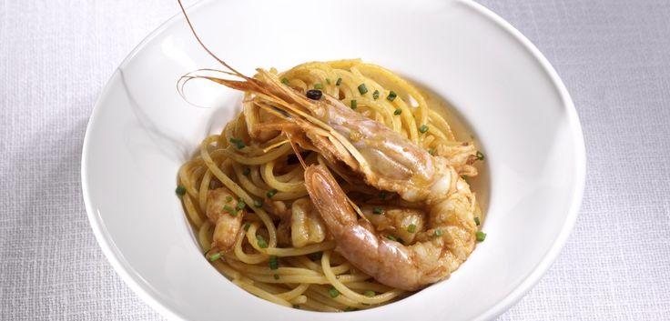 Spaghetti ai gamberi argentini