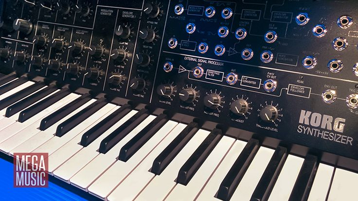 Iconic. Korg MS20 mini. #korg #korgsynth #korgsynthesizer #korgms20 #ms20 #synthesizer #megamusic #megamusicmyaree