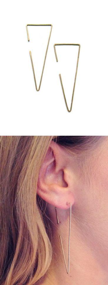Love!! Love!!!Triangle earrings