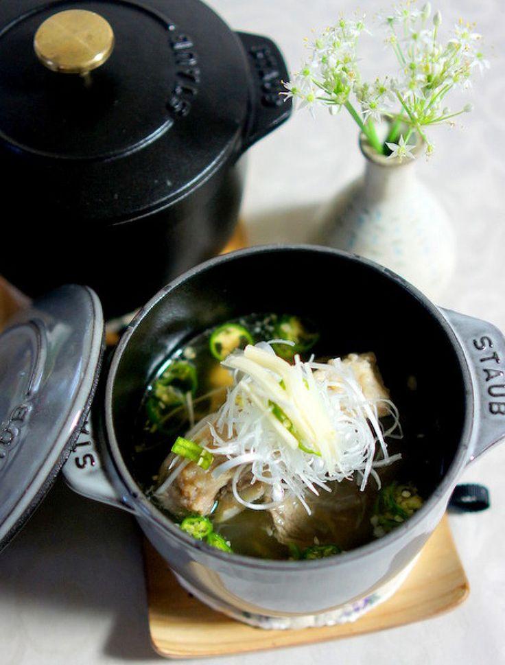 ストウブ La Cocotte de GOHANについて   レシピサイト「Nadia ... シンガポールやマレーシア料理の肉骨茶(バクテー)です。