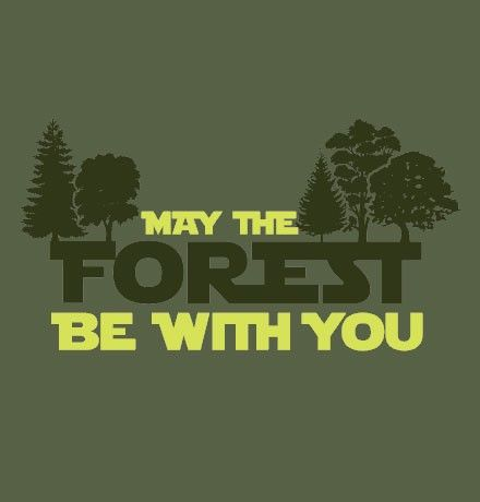 We've got you covered for Earth Day (which really is every day of the year)! Mixing Star Wars references and, ecology on tshirtpusher.com