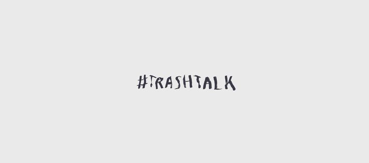 This project is a collection of selected logotypes. Trash Talk Logo Design Igor Kubik