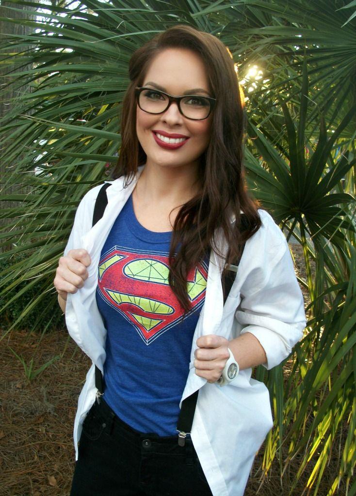 Super Woman in Disguise Costume #Halloween #costume #superhero #superwoman #diy