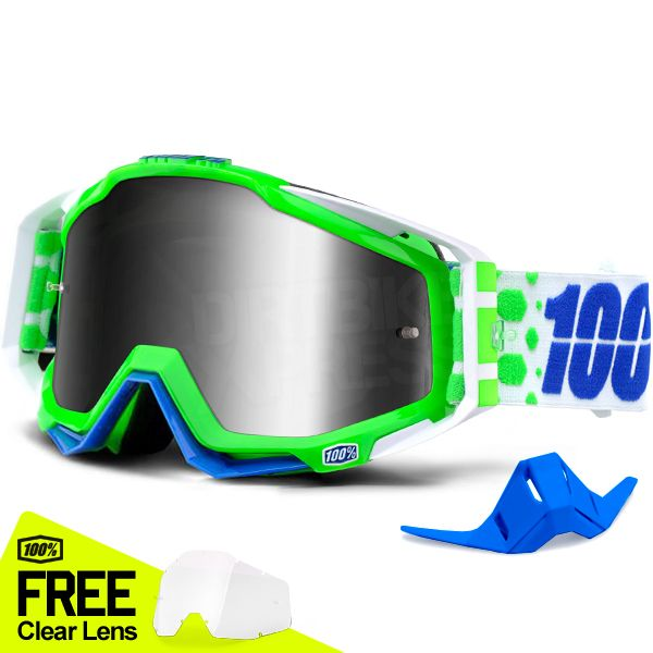 100% Goggles prices from £19.99 to £59.99  Plenty of colours to choose from