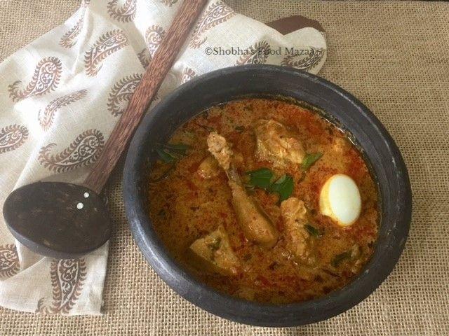 Shobha's Food Mazaa: CHICKEN CURRY MUNIYANDI VILAS STYLE / MADURAI MUNIYANDI VILAS KOZHI KUZHAMBU