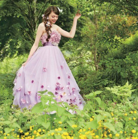 Rapunzel Wedding Dress - Princess - Vestido Casamento - Disney - Once Upon a Time - Gata Borralheira - Rapunzel - Fairy Tales - Photos by Disney Japan/Kuraudia Co