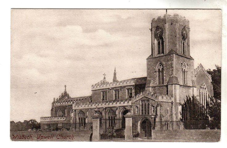Upwell Church - Photo Postcard c1910 / Wisbech | eBay
