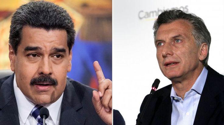 Entrevista al Director de Resumen Latinoamericano en el periódico 4F del PSUV MACRI CONTRA VENEZUELA