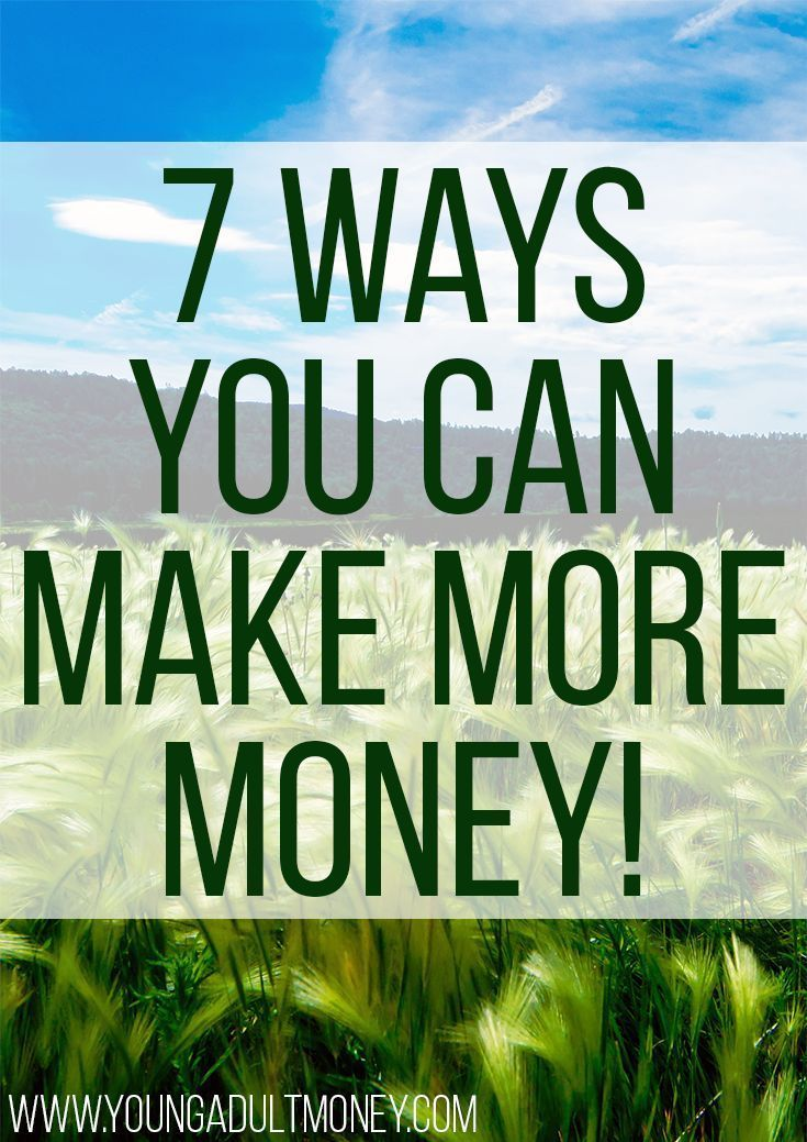 Who doesn't want to make more money? Earning more is better than cutting back and has unlimited potential. Here are 7 ways you can start side hustling and earn more money!