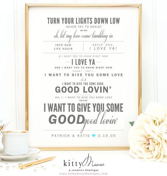 68 best song lyric art prints images on pinterest lyric art light gray aqua bob marley turn your lights down low wedding wedding song lyricssong stopboris Gallery