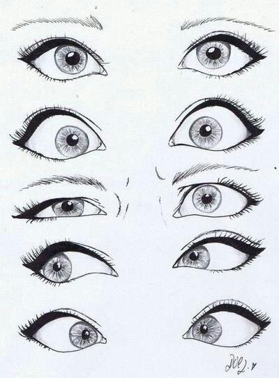 ojos mujer comic