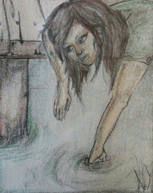 Lyric challenge sketch Blue October -fear