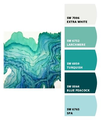 Sea glass colors that go together pinterest sea for Paint colors that go together