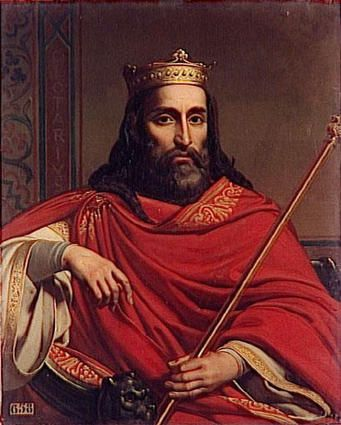 William the Conqueror, the first foreign King of England.