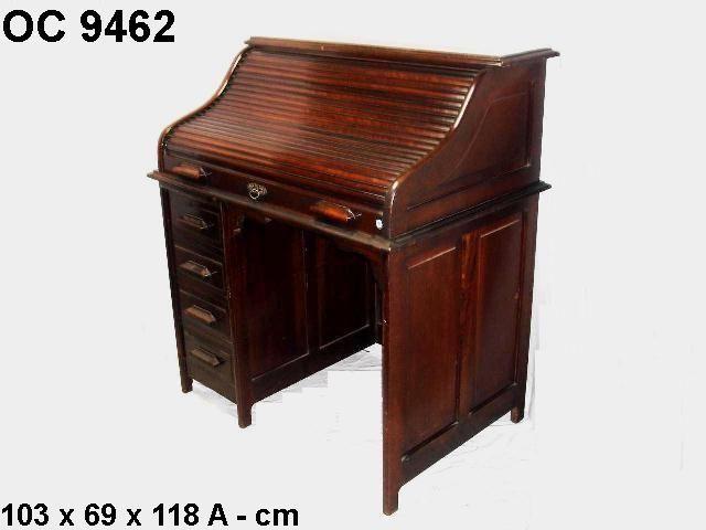 escrivaninha xerife, móvel antigo, estilo vintage, retrô