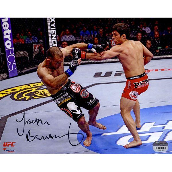 Joseph Benavidez Ultimate Fighting Championship Fanatics Authentic Autographed 8'' x 10'' Horizontal Knockdown Photograph - $29.99