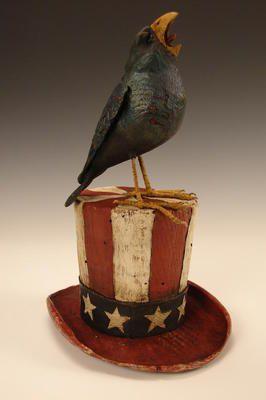 American Chestnut Carvings :: Let Freedom Ring :: Peter Bretz Americana Carvings