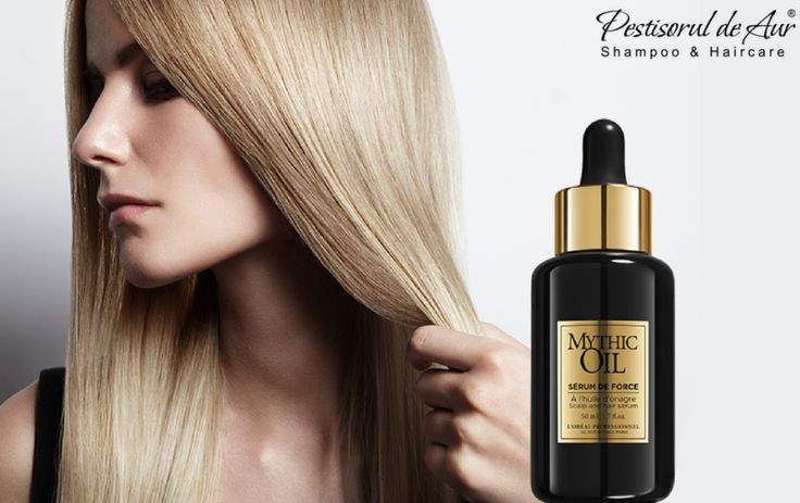 Recunoscând faptul că sănătatea părului porneşte de la scalp, L'Oreal a creat serul fortifiant pentru păr şi scalp Mythic Oil Serum de Force. Datorita formulei sale concentrate, firul de păr va fi fortificat şi protejat pe toată lungimea lui. Este potrivit pentru toate tipurile de păr. Comandă-l aici: https://www.pestisoruldeaur.com/LOreal-Professionnel/Mythic-Oil-Hidratare-intensiva/Ser-tratament-pentru-par-si-scalp-L-Oreal-Mythic-Oil-Serum-de-Force-50-ml
