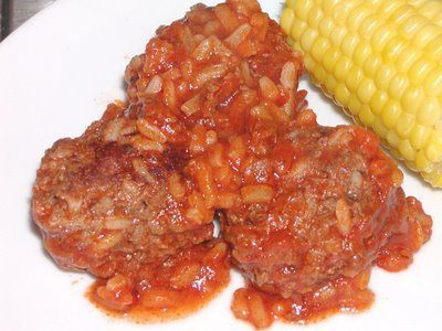Porcupine Meatballs in Crock Pot! | Recipes | Pinterest - Click the image to see other porc slow cooked recipes
