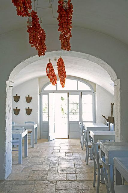 #Puglia, farmhouses, tradition and delicious food.