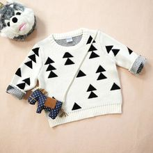 baby sweater bobo choses sweater triangle Christmas tree with the same paragraph knitting kids clothing(China (Mainland))