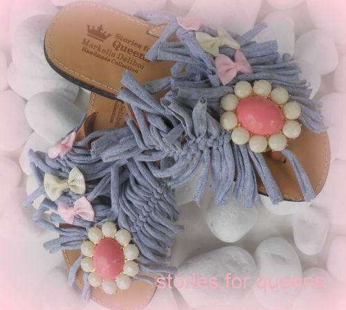 Χειροποίητα σανδάλια από γνήσιο δέρμα stories for queens  Βρείτε το στο παρακάτω σύνδεσμο: http://handmadecollectionqueens.com/γυναικεια-χειροποιητα-σανδαλια-με-φιογκους  #handmade #fashion #summer #sandals #women #footwear #storiesforqueens #χειροποιητο #μοδα #καλοκαιρι #γυναικα #υποδηματα #σανδαλια