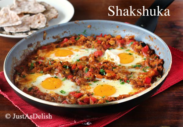 Shakshuka (Eggs Poached in Tomato Sauce) | My kind of food. | Pintere ...