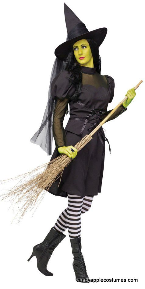 Adult Ms. Wickd Witch Costume - Adult Witch Costumes - Candy Apple Costumes ----All 3 of us are going to be different witches!!