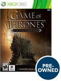 Game of Thrones - A Telltale Game Series - PRE-Owned - Xbox 360, Multi