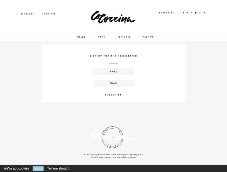 Best 25+ Newsletter signup ideas on Pinterest Login form - email signup template