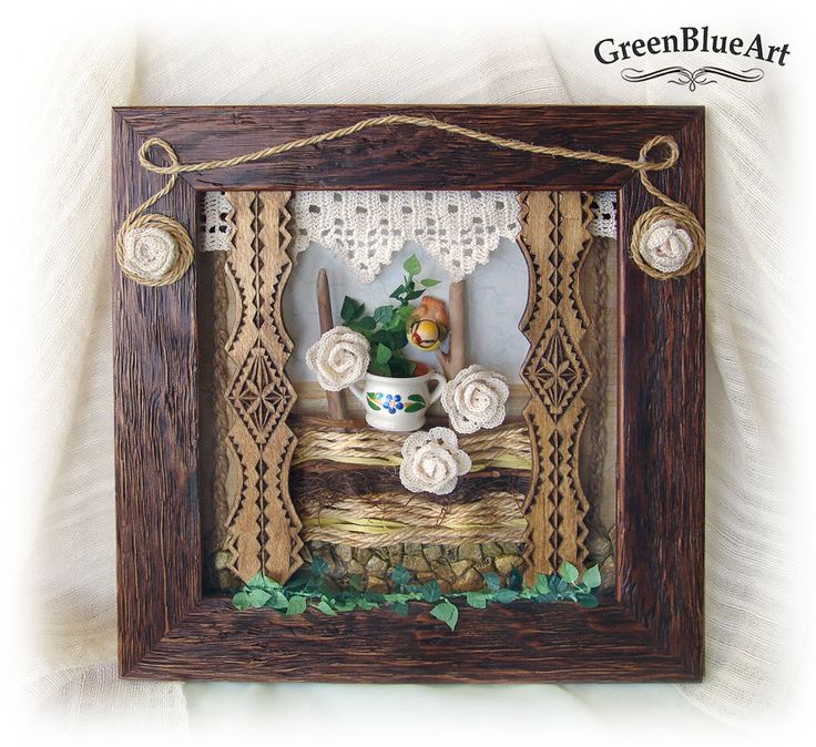 Memories from granny's house by GreenBlueArt on Etsy