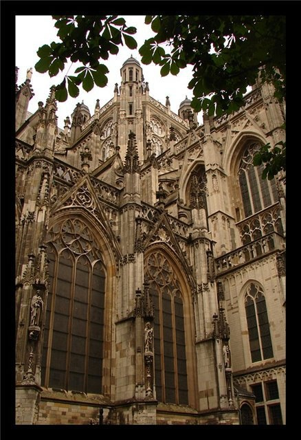 The cathedral of Den Bosch, the Netherlands
