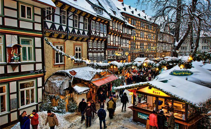 Weihnachtsmarkt in Goslar (Niedersachsen)