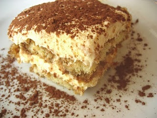 """Buddy Valastro's Tiramisu.  This is incredible.  We served it for Christmas Eve and had to send everyone home with a copy of the recipe.  We had a lot of fun with the blogger's comment of how Italians say """"forget about it"""" (fuggetaboutit).  But all in all, this recipe is authentic if you follow the recipe and not the Idaho blogger's adjustments."""