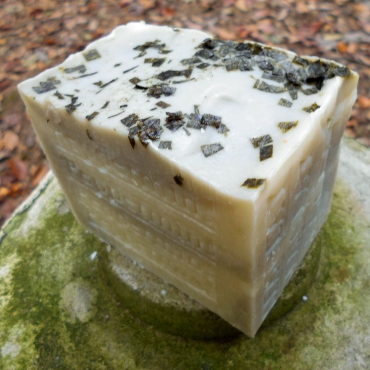 Peppermint Soap with Sea Clay ( Large Bar ) Limited Edition 13.5 Oz