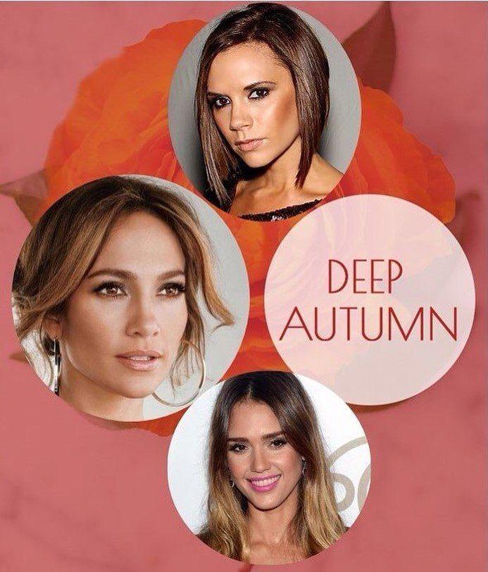 Тёмная осень На фото: Jessica Alba Jennifer Lopez Victoria Beckham  Осень-Зима (…