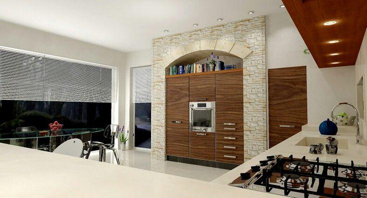 Progettazione #3D  #design #minimal #designer #casa #home #style #archidaily #architecture #architettura #cucina #kitchen