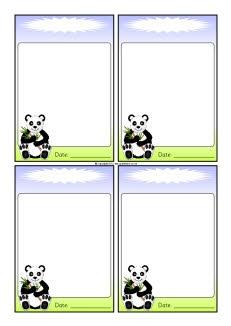 Panda-themed editable communication slips (SB8592) - SparkleBox: Panda Classroom Theme, Panda Themed Editable, Classroom Design, Communication, Asia Theme, Pierce S Pandas, Classroom Management, Panda Theme Classroom, Classroom Ideas