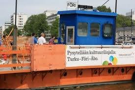 Staying on the Culture line: Turku - Föri - Åbo :D