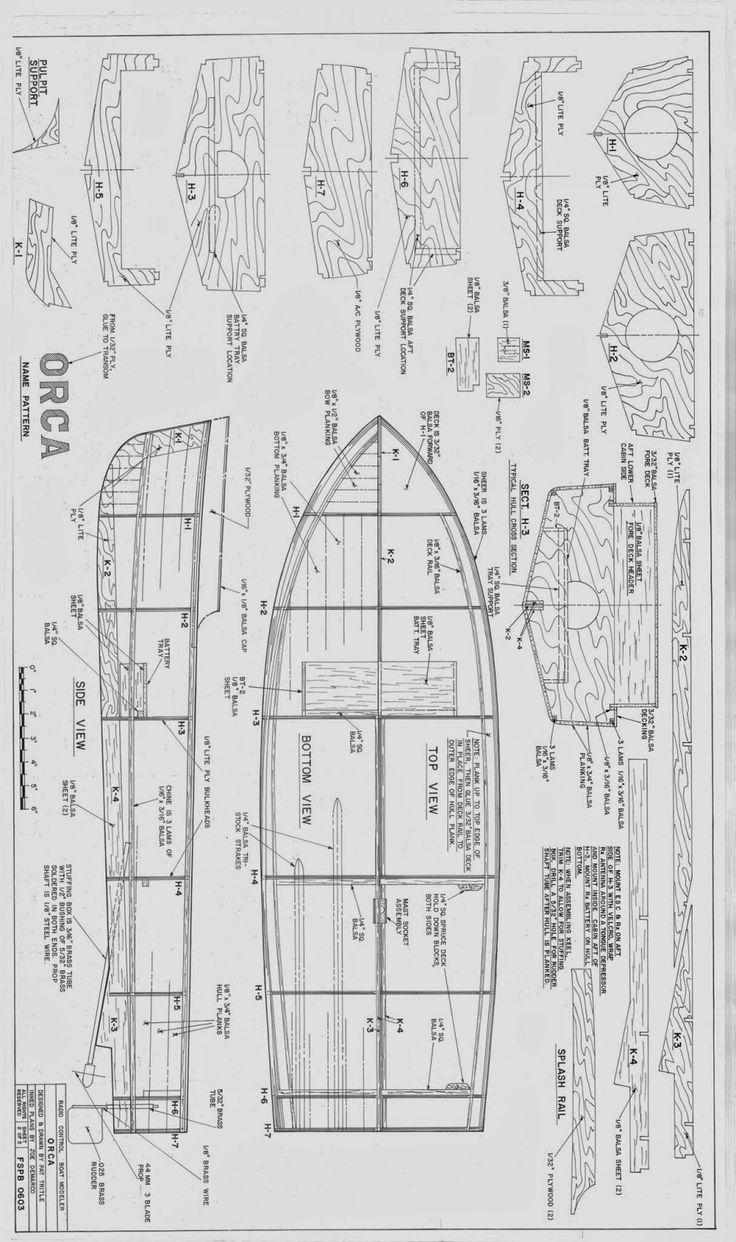 Chris craft model boat plans - My Boat Plans Orca2 Tif 948 1600 518 Illustrated